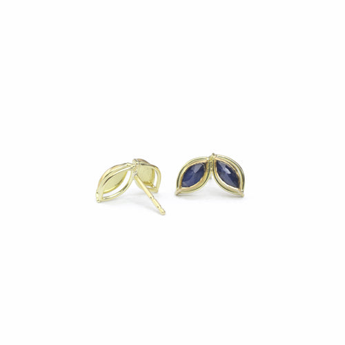 Dual Marquis Sapphire Earrings
