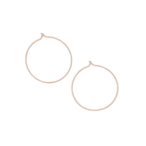 Hoop Earrings - Large
