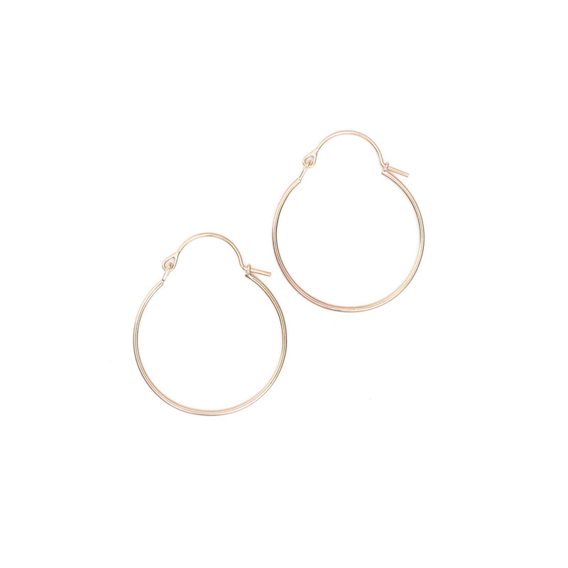Valance Hoop Earrings - Small