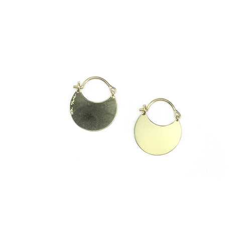 Flare Earrings - Circle