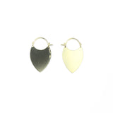 Flare Earrings - Shield