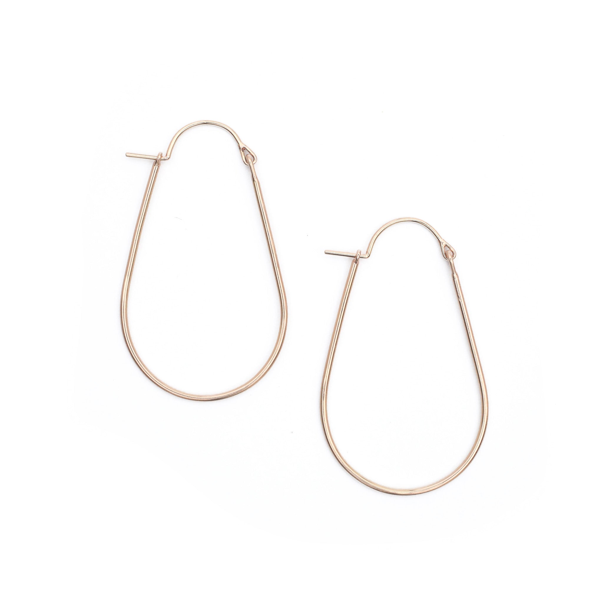 Elongated Valance Hoops - Medium
