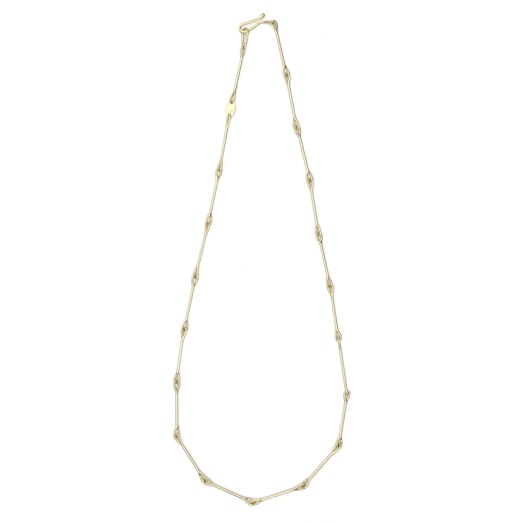 Needle Eye Chain Necklace - Heavy Weight