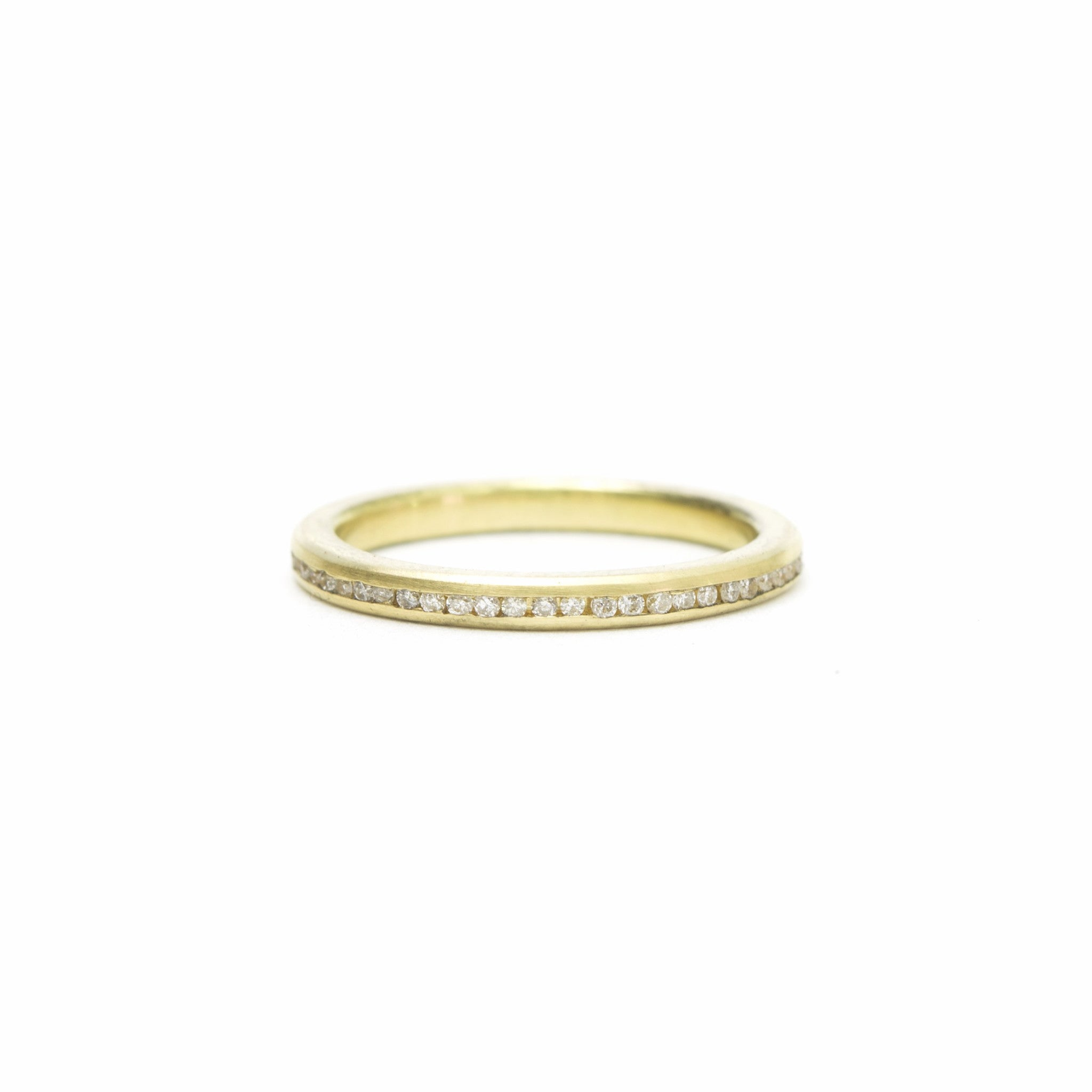 ring gold jewellery diamond top white cut wedding band rings in princess eternity