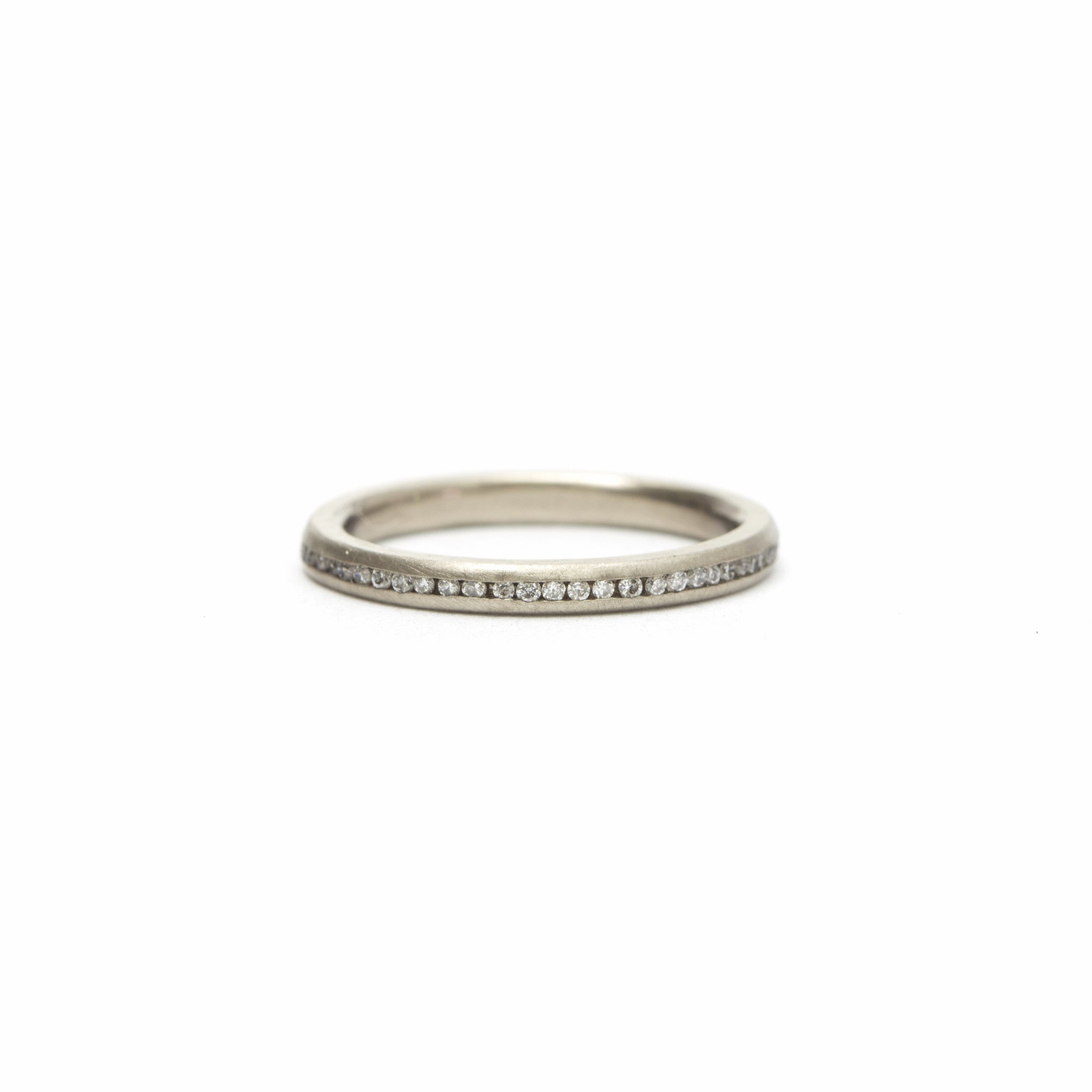 heart shaped band london diamond two bands by eternity