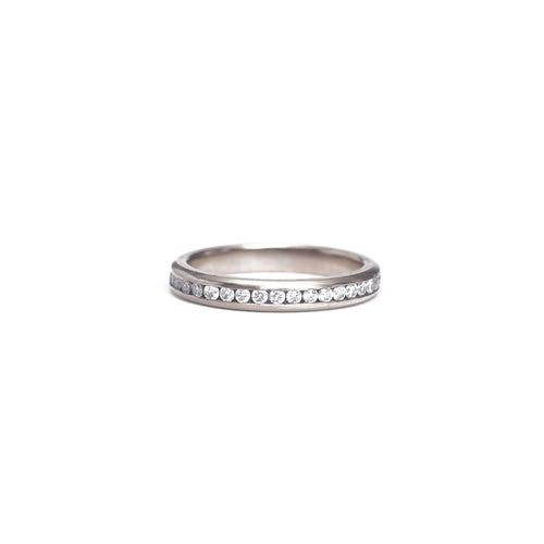 White Diamond Eternity Ring - 1.5mm