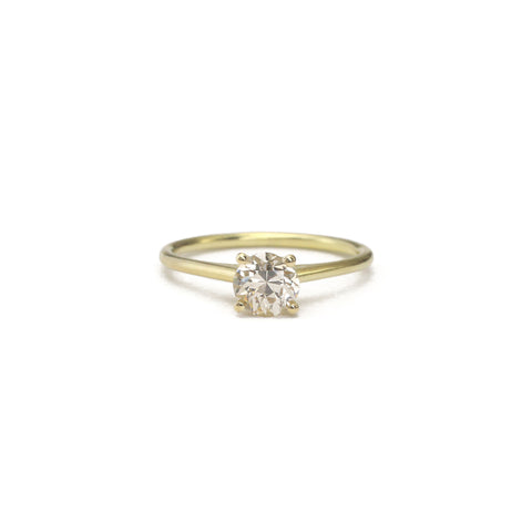 Portrait Cut Diamond Solitaire