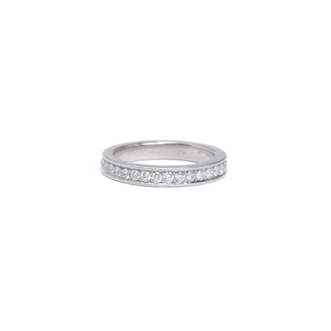 White Diamond Eternity Ring - 1mm