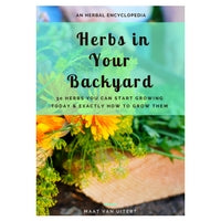 photo of herbs in your backyard digital book