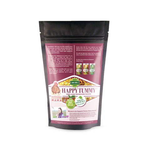 happy tummy nesting herbs black bag