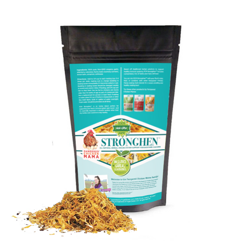 PCM StrongHen (TM) Herbal Support For Backyard Chickens