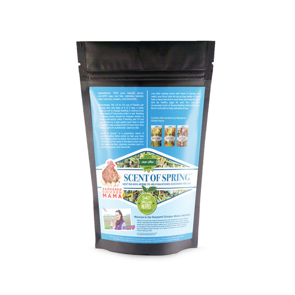 Scent of Spring Nesting Herbs For Backyard Chickens 3d bag