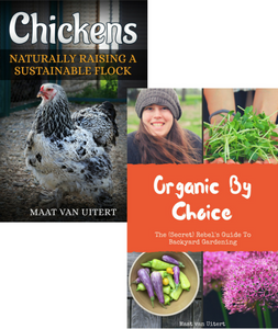 photo of books chickens naturally raising a sustainable flock and organic by choice