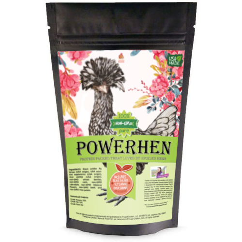 PowerHen (TM) High Protein Treat For Backyard Chickens