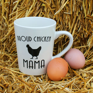 Proud Chicken Mama Coffee Mug (11 ounces)