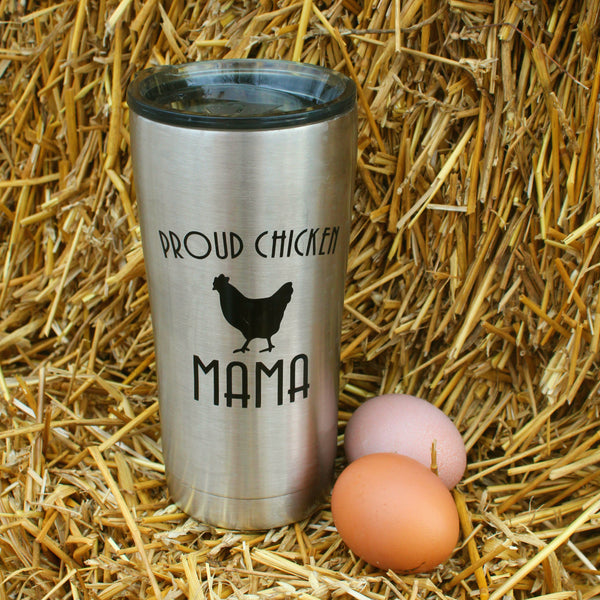 Proud Chicken Mama Tumbler (20 ounces)