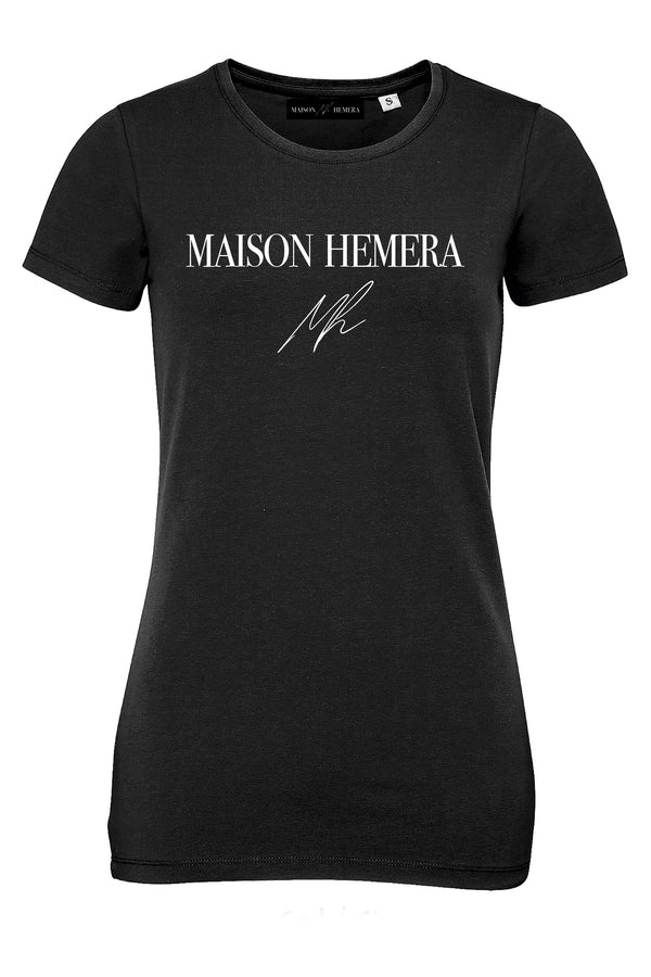 """MAISON HEMERA"" - FITTED T-SHIRT"