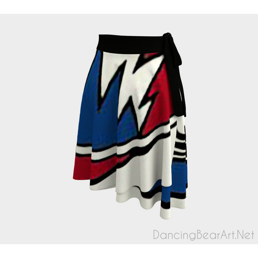 Stealie Wrap Skirt-Wrap Skirt-Dancing Bear Fine Art-Dancing Bear Fine Art