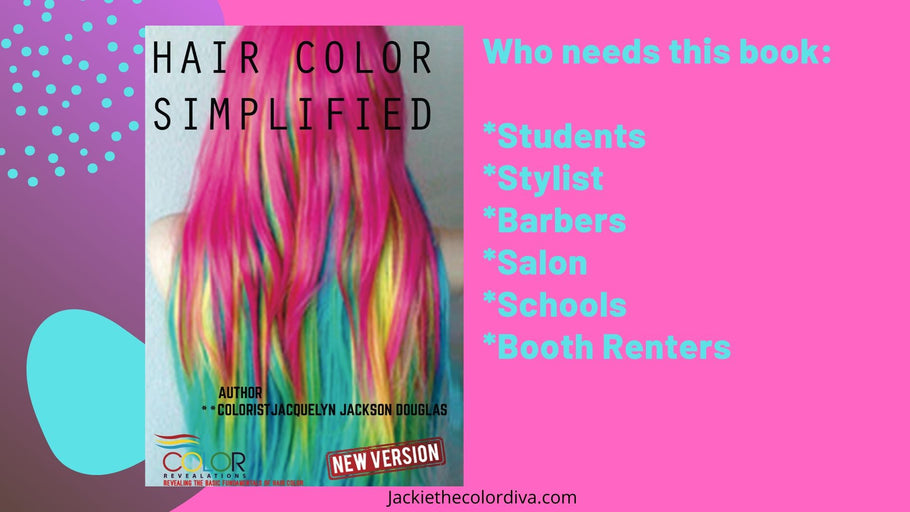 HAIR COLOR SIMPLIFIED BOOK