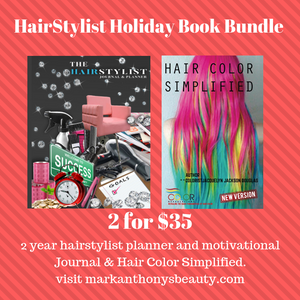 HairStylist hoiday book bundle