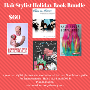 Hairstylist Holiday Book Bundle