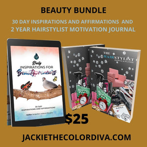 BEAUTY BUNDLE INSPIRATION, AFFIRMATIONS, MOTIVATION PLANNER