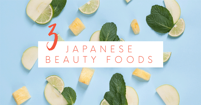 3 japanese beauty foods for healthier skin banner