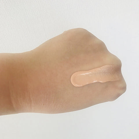 f-organics foundation swatch