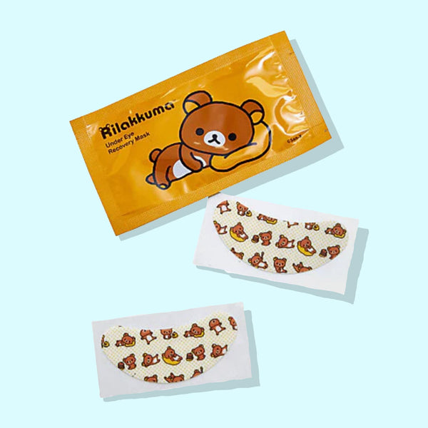 Rilakkuma Under-Eye Recovery Mask
