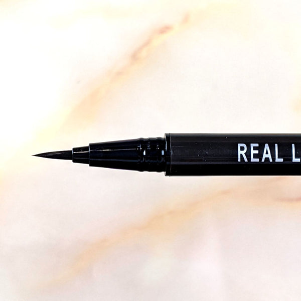 Close-up of the K-Palette 1 Day Tattoo Real Lasting Liquid Eyeliner brush tip