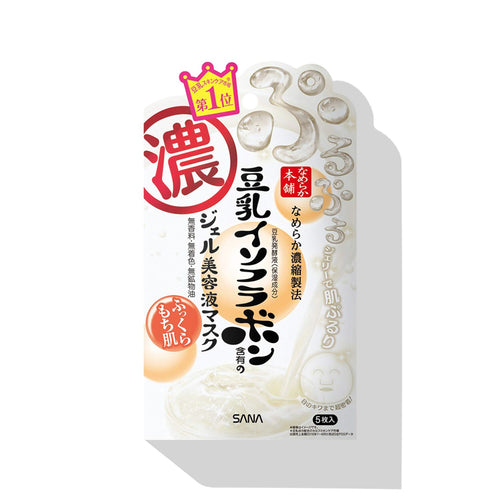 SOY ISOFLAVONE NAMERAKA Gel Serum Facial Mask