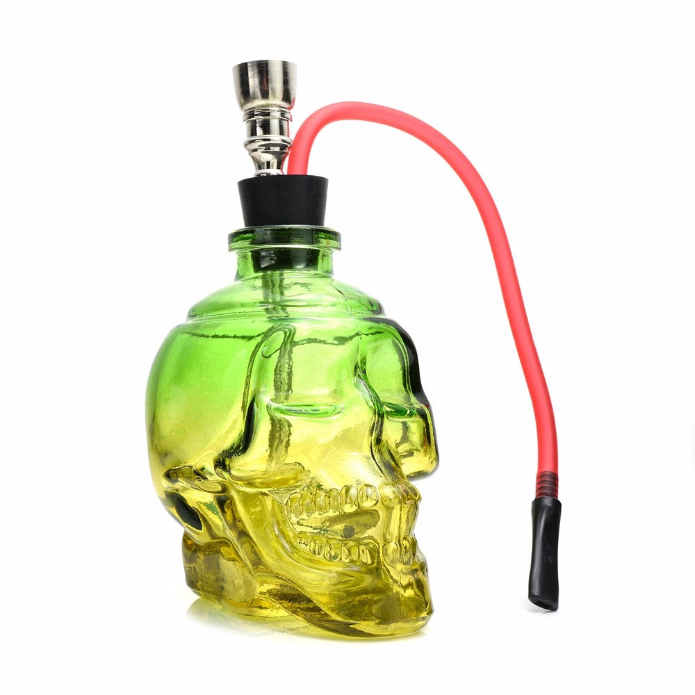 LST Colored Skull Water Pipe