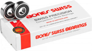 Bones® Swiss Skateboard Bearings (16 Pack)