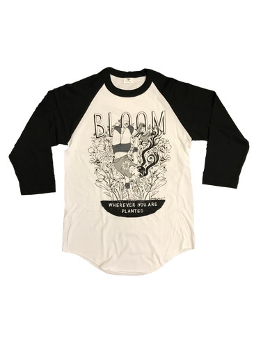 Bloom Baseball Tee