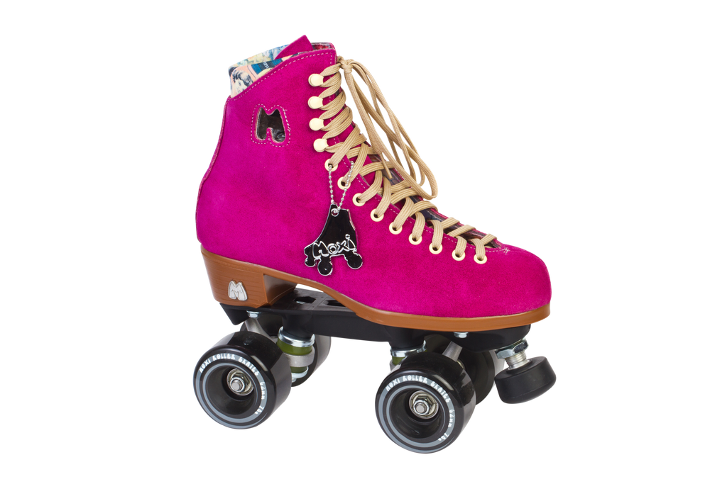 Moxi skates lolly fuchsia gummy wheels main