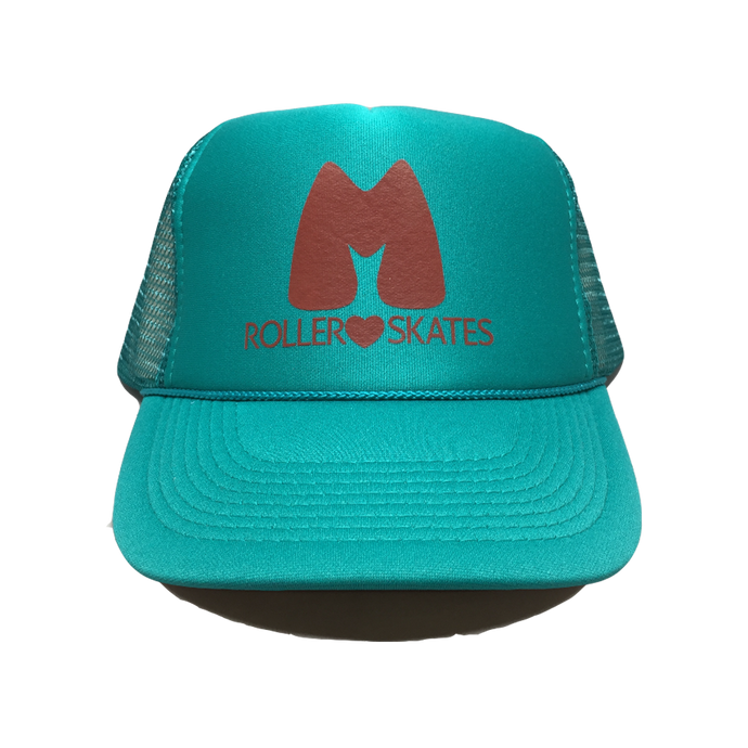 Moxi Teal Trucker Hat