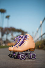 Moxi roller skates beach bunny boardwalk cruisers pink blanket purple glitter wheels