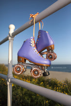 moxi beach bunny periwinkle sunset peach glitter wheels street cruisers
