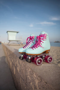 Moxi roller skates beach bunny boardwalk cruisers