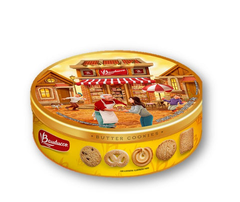 Bauducco Butter Cookies Tin 340g