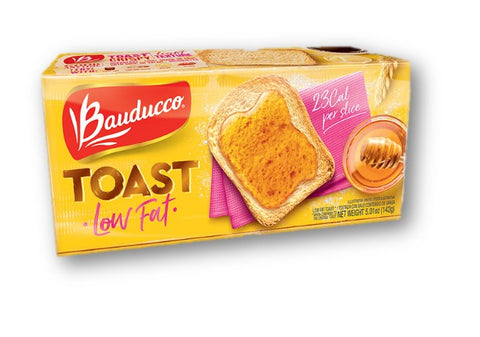 Bauducco Toast Low Fat 142g