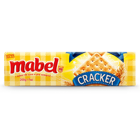 Mabel Biscoito Cream Cracker
