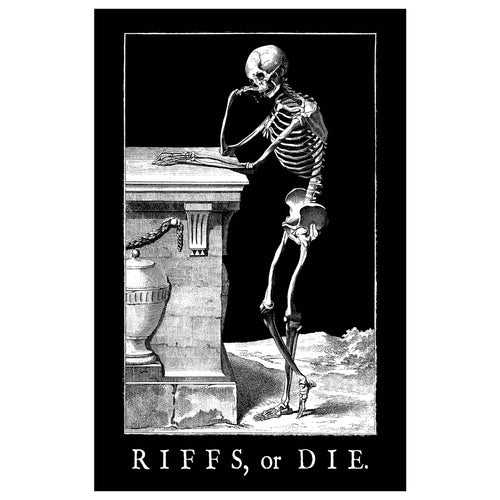 RIFFS OR DIE Thinker 11