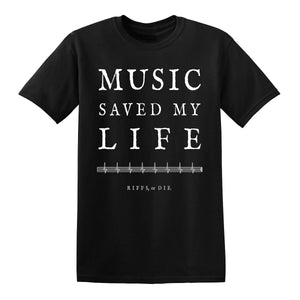Music Saved My Life T-Shirt