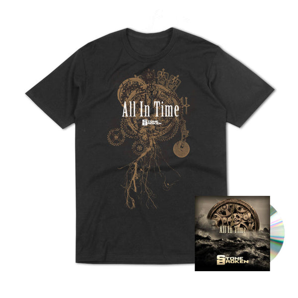 ALL IN TIME (CD) + T-SHIRT + THE ONLY THING I NEED (CD)