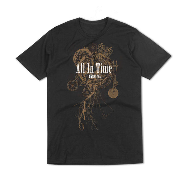 ALL IN TIME BLACK T-SHIRT