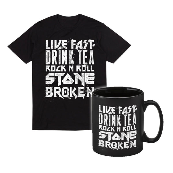 Mug & Live Fast Drink Tea T Shirt