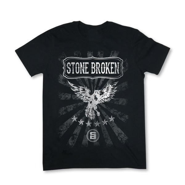 MENS CROW TEE (BLACK)