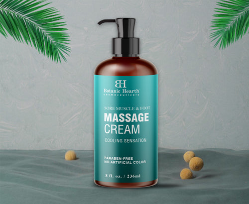 Sore Muscle & Foot Massage Cream