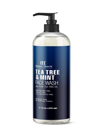 tea tree mint face wash